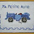 73 ma petite auto pour Micheline