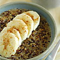 PORRIDGE AU QUINOA & LAIT RIZ-AVOINE-SOJA