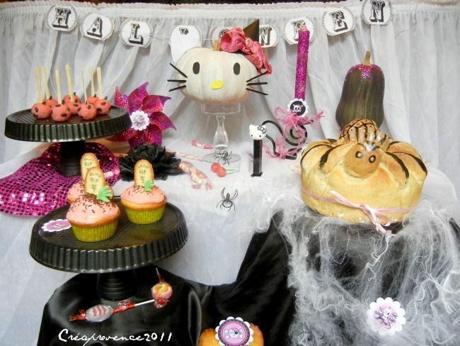 hello kitty pink halloween