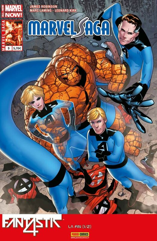 marvel saga V2 09 fantastic four la fin 1