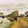 Monet, voltigeurs de la garde au bord de l'eau