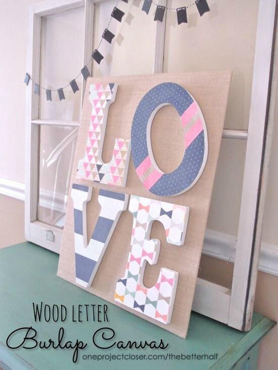 Lettres Déco 5