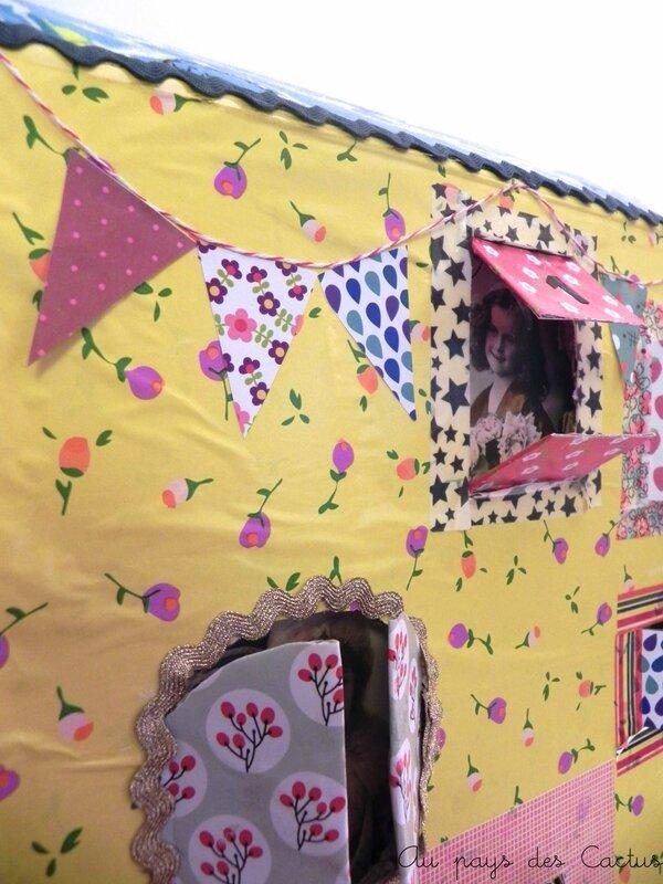 Calendrier de l'Avent DIY maison géante Au pays des Cactus 9