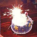 Gâteau Toys Story bougies