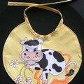 Bavoir « Oh la vache! »