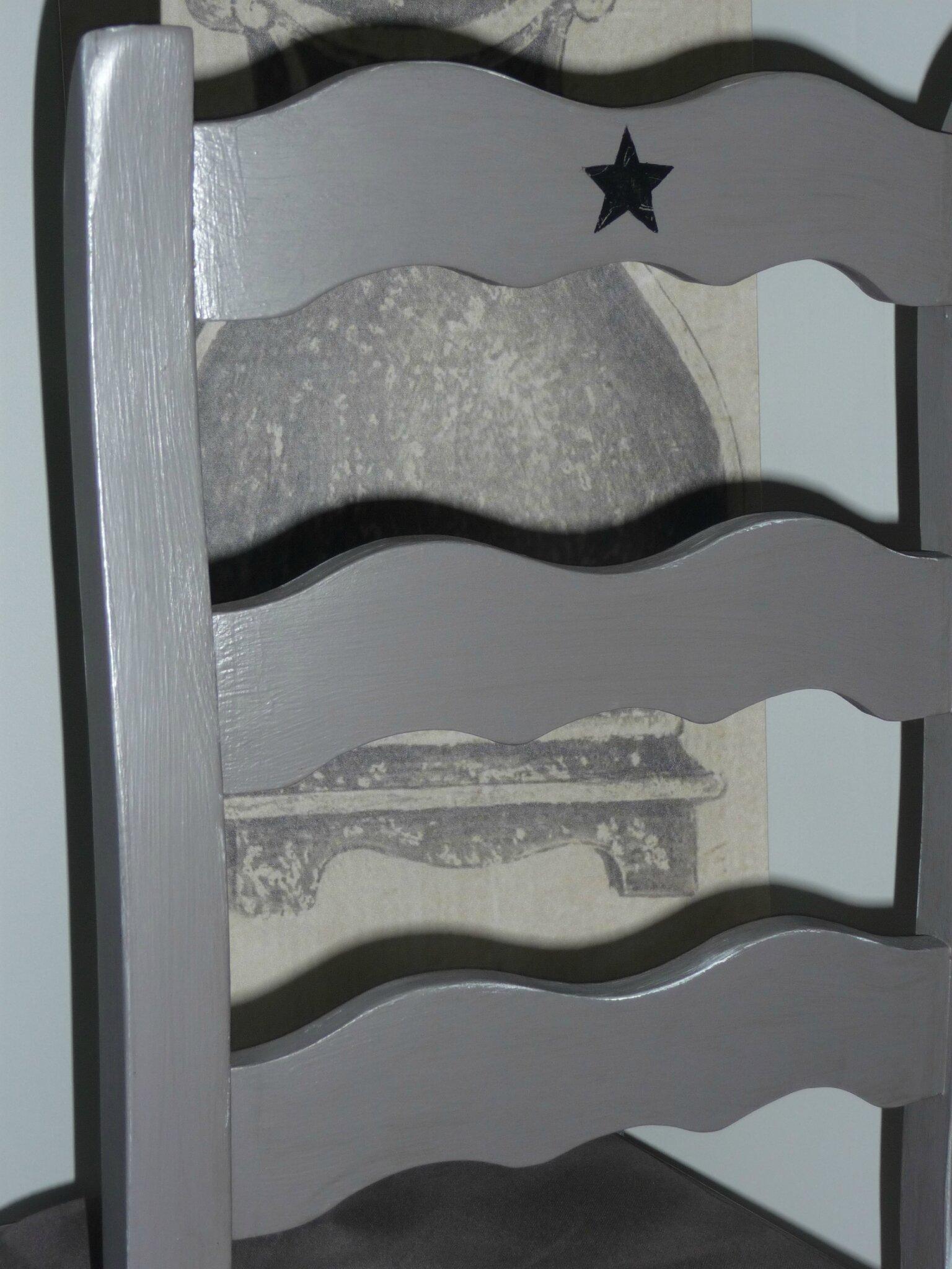 Meubles repeints mon atelier de gris et de broc for Meuble 05 etoiles