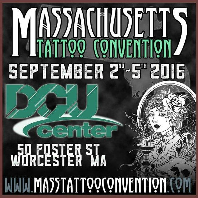 Massachusetts Tattoo Convention 02 - 05 Septembre 2016