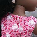 Une robe printanière pour l'automne