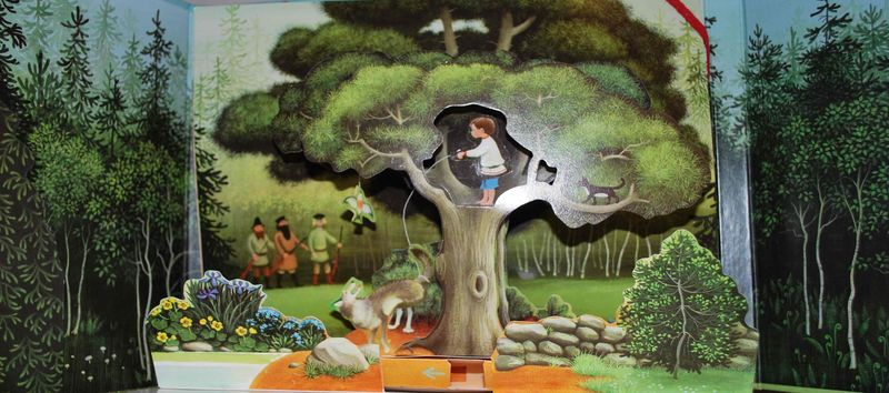 Pierre et le loup illustr par barbara cooney ribambelles ribambins - Bassin canard mauritius saint paul ...