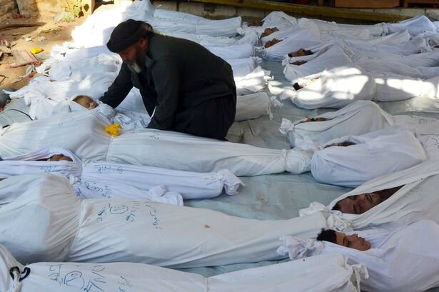 syria alleged chemical attack victims