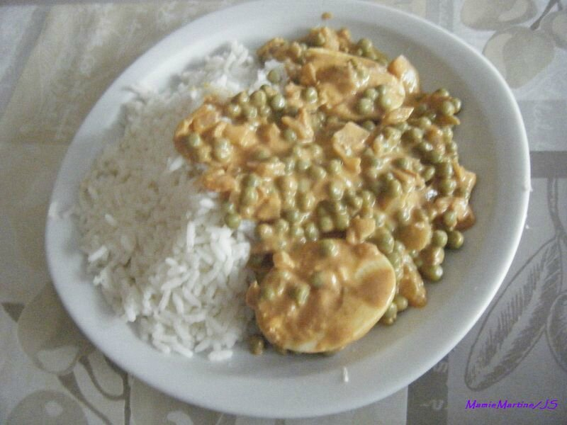 Oeufs durs curry7