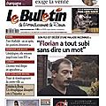 Hommage du Bulletin