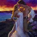 La femme et le baiser