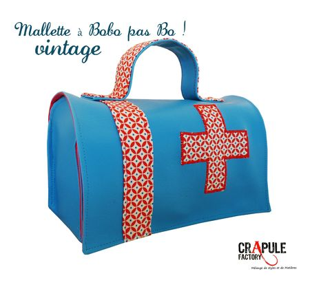 mallettea bobo bleu simili cuir little 2