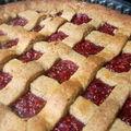 Linzer torte ou tarte de linz