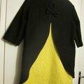 Le modèle leontine en version robe courte pour ma salomé