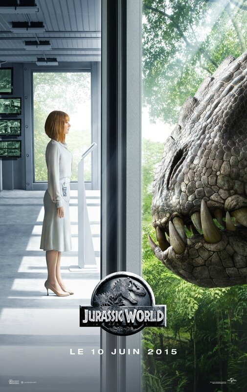 Jurassic World movie poster 01