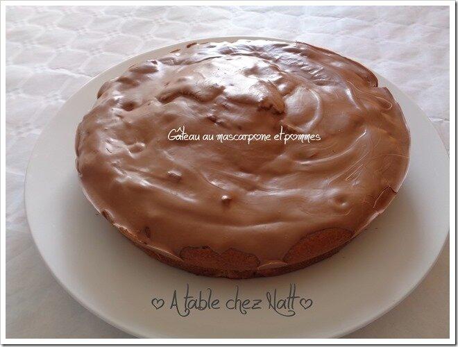 gâteau au mascarpone et pommes