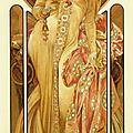 Art nouveau 1899_Affiche Moët & Chandon_Mucha