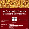 les cahiers integres de medecine égyptienne - iii (cime-iii)