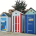 cabines de plage à st Denis