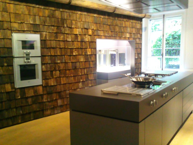 Le on gourmande by gaggenau et pr mice d 39 un r veillon for Showroom cuisine paris