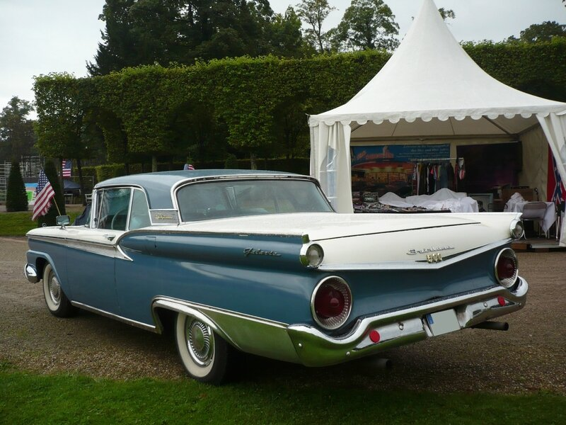 FORD Fairlane 500 Galaxie Skyliner 2door hardtop 1959 Schwetzingen (2)