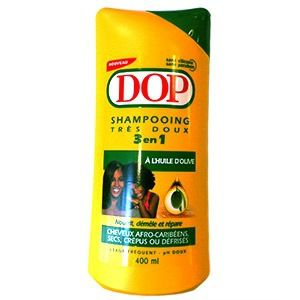 dop shampoing huile olive