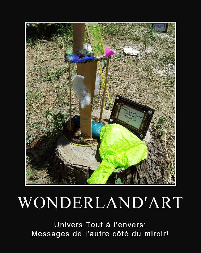 Wonderland 39 art l 39 univers tout l 39 envers le blogulis de for L envers du miroir