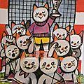 Onze chats (Album n°11)
