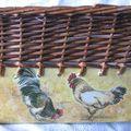 Panier poules