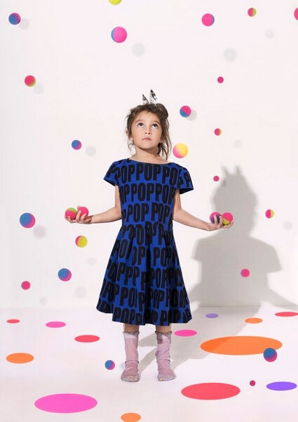 gardnerandthegang blue dress