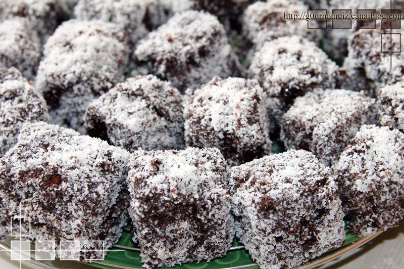 Recette roule au chocolat noix de coco