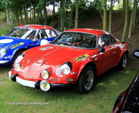 Alpine A110 berlinette 1600 S (1970-1971)(Alsace Auto Retro Bartenheim 2011) 01