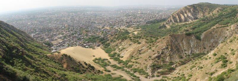 Panorama Nahargarh Fort 16 10 2013