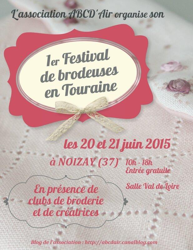 ABCD'Air Affiche Festival de Brodeuses en Touraine 2015 (1)