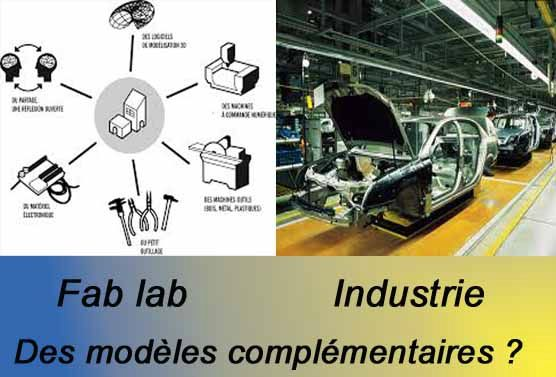 fab lab fablab industry industrie CAO objet production CAD CAM