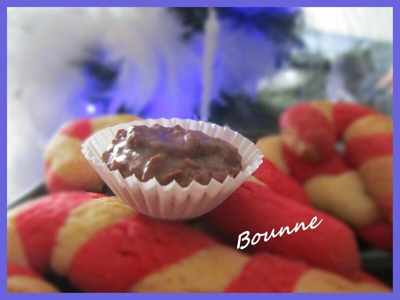 Bouchées de praliné croustillant (1)