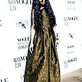 Haden kuo bi ting wearing fall 2013 runway look 48 at vogue no. 100 night in beijing