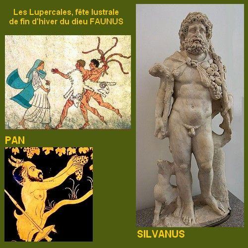 Pan-Faunus-Silvanus