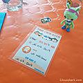 Bilan 4 ans - anniversaire octonauts - free printable