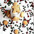 ☆ calendrier de l'avent : 1 surprise par jour ☆ jour 22 : sablés vanille-cannelle aux zestes d'orange