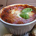 Fondants de mozzarella aux tomates
