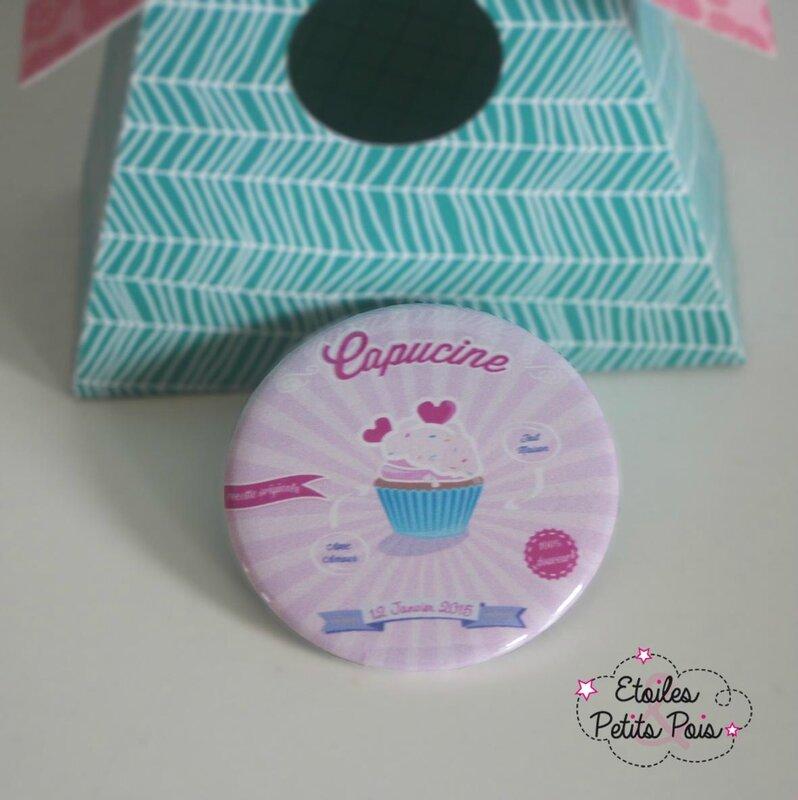 FP Cupcake Magnet