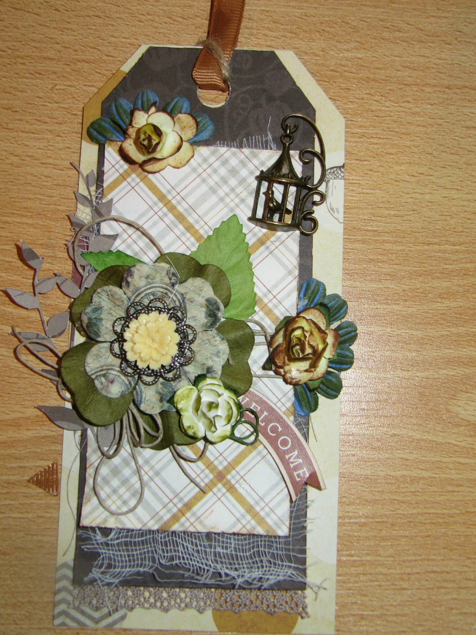 Tag coeur de scrap octobre