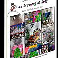 Les cartes 3d de nanoug et josy, série noël et nouvel an