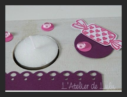 centre de table bougies original