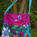sac en tissu , dco yoyos,boutons en fimo etc ....