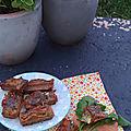 Muffins chèvre et fanes de radis