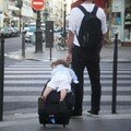 Paris - Taxi luggage